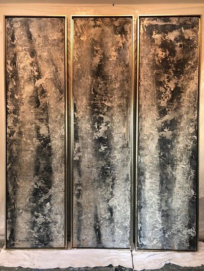 Andrea Bonfils, 'Light and Dark Aspens', 2018