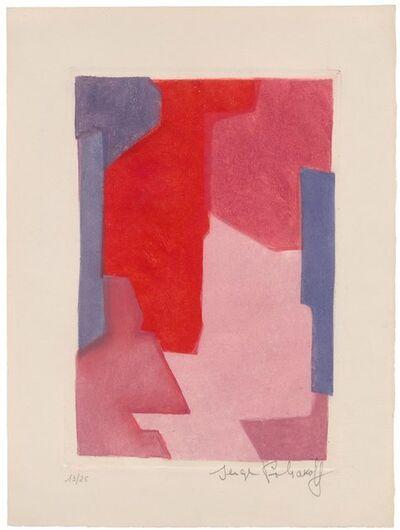 Serge Poliakoff, 'Composition mauve, bleue et rouge', 1964