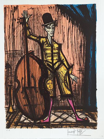 Bernard Buffet, 'Le Clown a la contrebasse', 1981