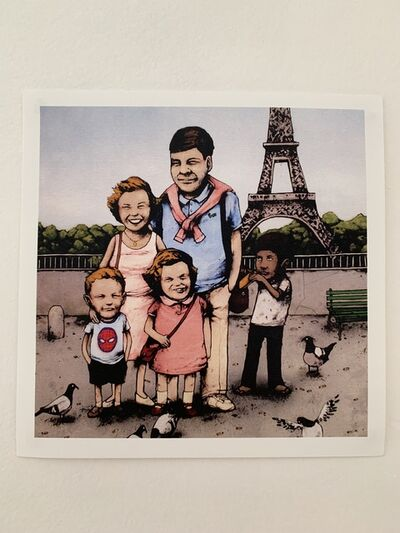 "dran, 'DRAN ""FAMILY PHOTO IN FRANCE"" PARIS EXCLUSIVE HYPER RARE', 2016"