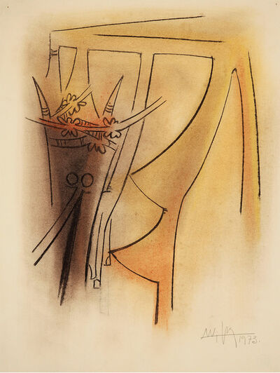 Wifredo Lam, 'Untitled', 1973