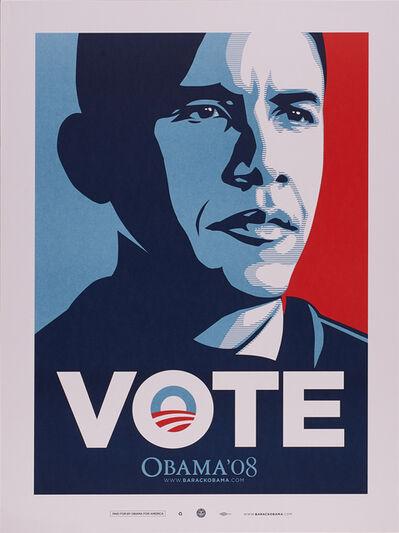 Shepard Fairey, 'Vote', 2008