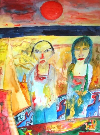 John Bellany R.A., 'Chinese couple', 2003