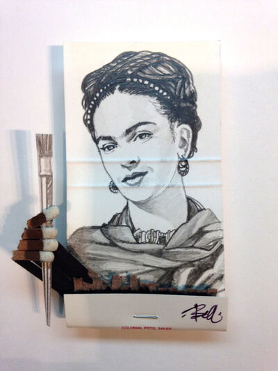 matchbox artists, 'Frida Kahlo', 2015