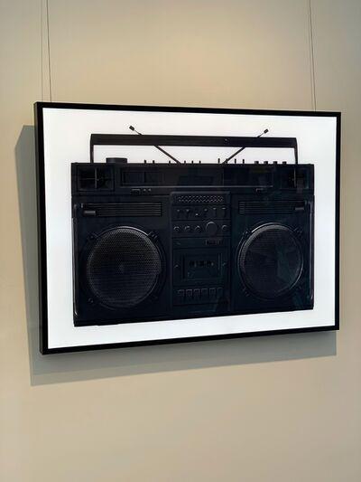 Lyle Owerko, 'Boombox Lightbox (Black)', 2019