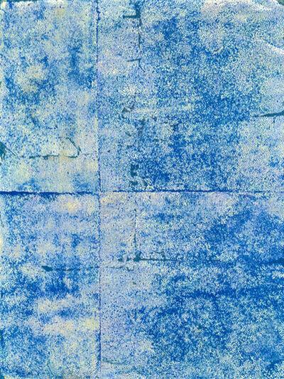 Félix Delandre, 'Blue on Gold', 2014