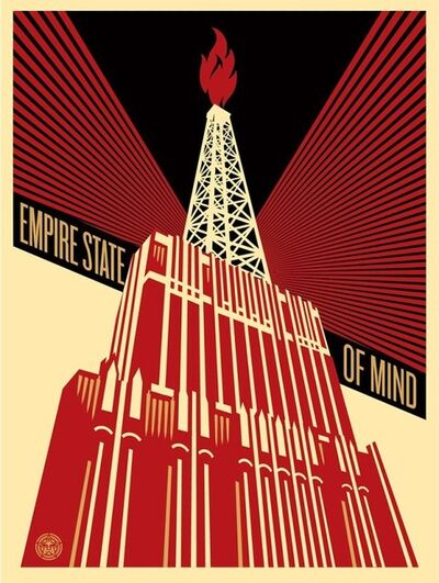 Shepard Fairey, 'Empire State Of Mind', 2014