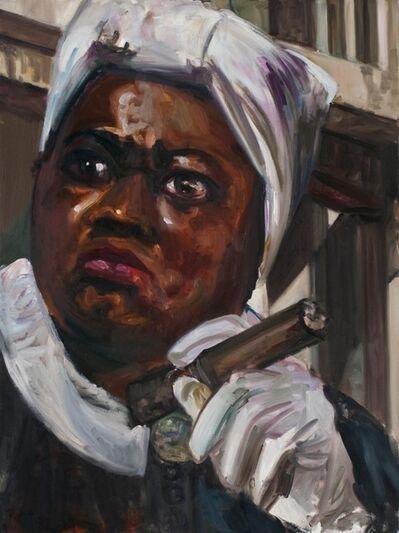 Dawn Mellor, 'Art Historian (Hattie McDaniel)', 2013