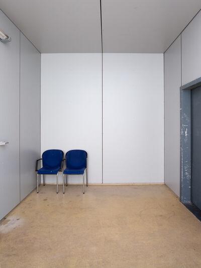 Robert Glas, 'Voor vrij Nederland (immigration detention, location Scheveningen) right image', 2015