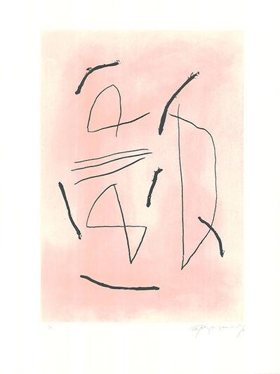 Albert Ràfols-Casamada, 'Signe i color 4', 1991