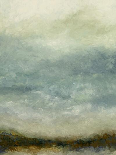 Kirby Fredendall, 'Winter Shoreline Friends Lake', 2018