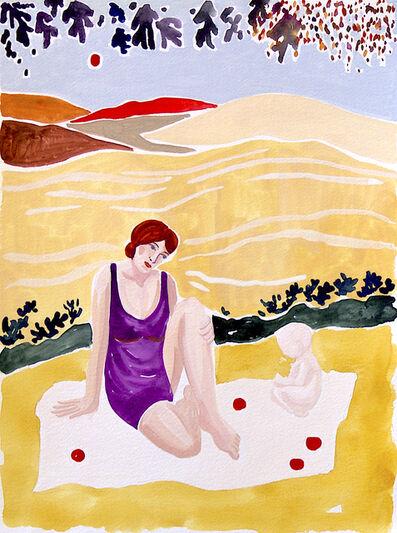 Freya Douglas-Morris, 'Mother and child picnic', 2020