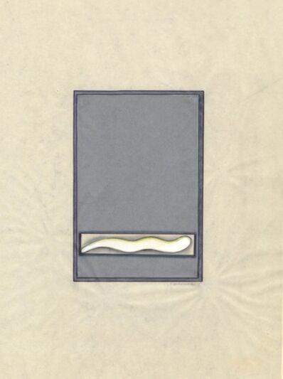 Renate Bertlmann, 'Wurm [Worm]', 1973
