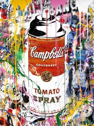 Mr. Brainwash, 'Tomato Spray', 2017
