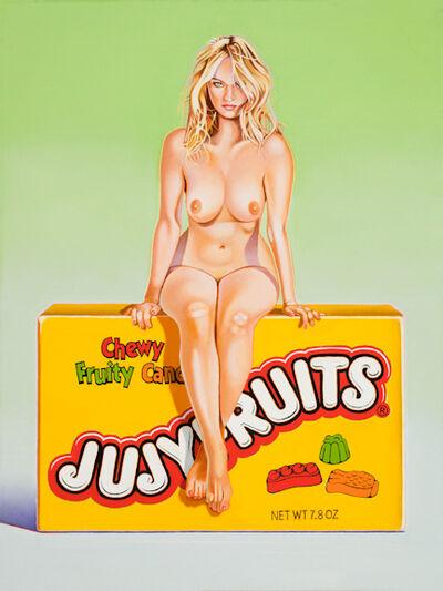 Mel Ramos, 'Jujy Fruits Judy', 2015