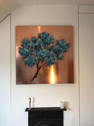 Daniel Hooper, 'Eden on Copper Oil Paint, Acrylic Paint Spring Easter ', 2019