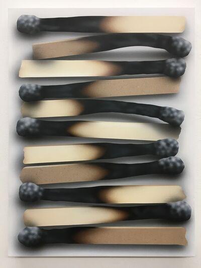 Rachel Hecker, 'Paper Matchstick Arrangement #2', 2017