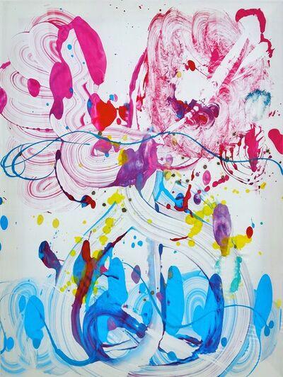Catherine Howe, 'Silk Monotype 1', 2020