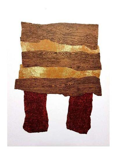 Enrico Baj, 'Enrico Baj - Colorful Abstraction - Original Lithograph', 1962