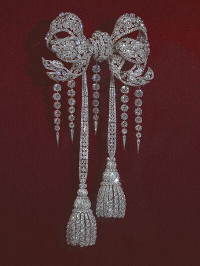 François Kramer, 'Noeud de corsage de l'impératrice Eugénie (Diamond corsage of Empress Eugénie)'