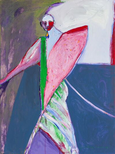 Fritz Scholder, 'Untitled (Shaman)', Late 20th c.