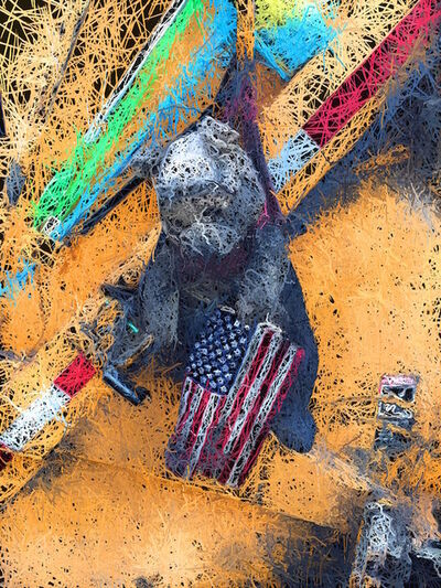 Graham Nash, 'Flag Bear', 2016