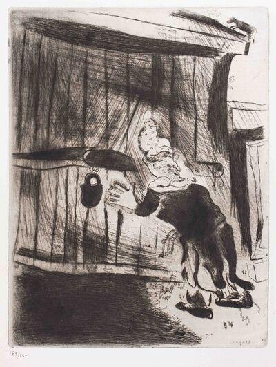 Marc Chagall, 'Pliouchkine à la porte'