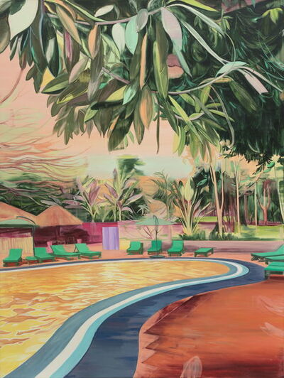 Lei Qi, 'Open air swimming pool', 2018