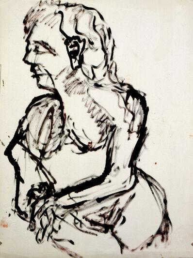 Fritz Winter, 'Untitled (Female Nude)', 1928