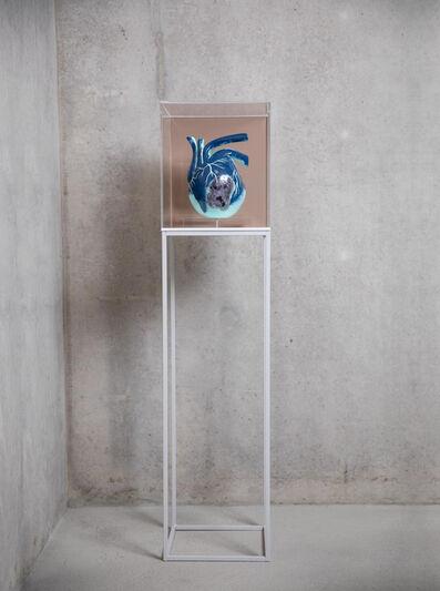 Willian Farias, 'A Full Heart . Blue', 2020