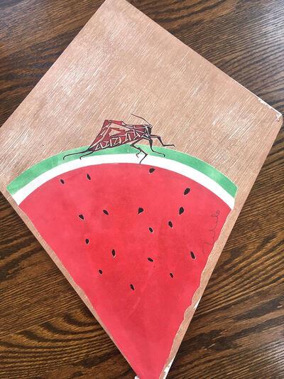 Francisco Toledo, 'Small Watermelon kite VI', 2017