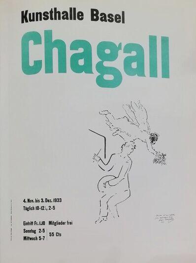 Marc Chagall, 'Kunsthalle Basel', 1959