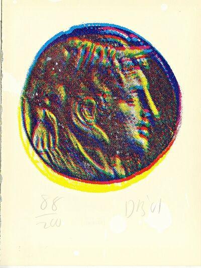 Donald Baechler, 'Untitled (Alexander the Great)', 2001