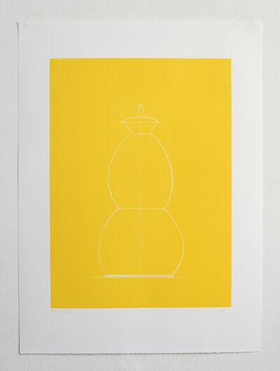 Thomas Schütte, 'Gartenzwerg (Yellow)', 2016