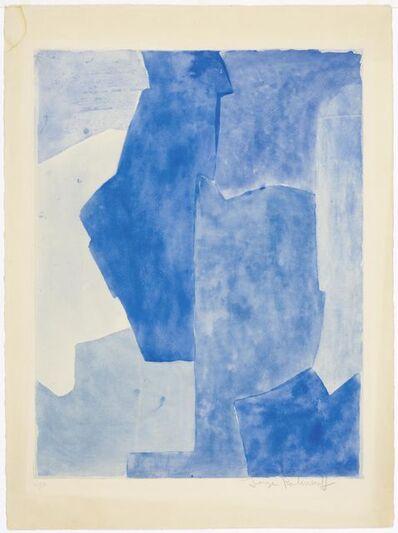 Serge Poliakoff, 'Composition bleue', 1963
