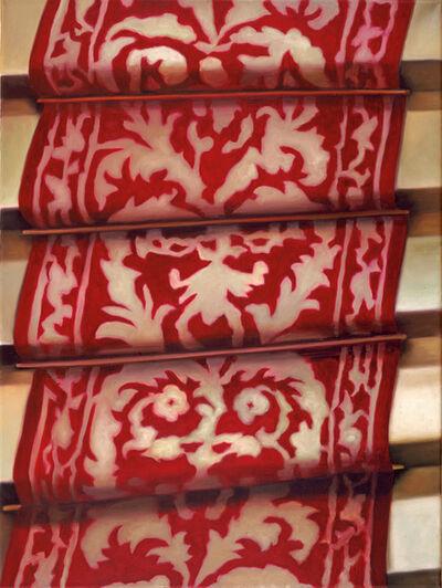 Karin Kneffel, 'Ohne Titel (Treppe)', 2001