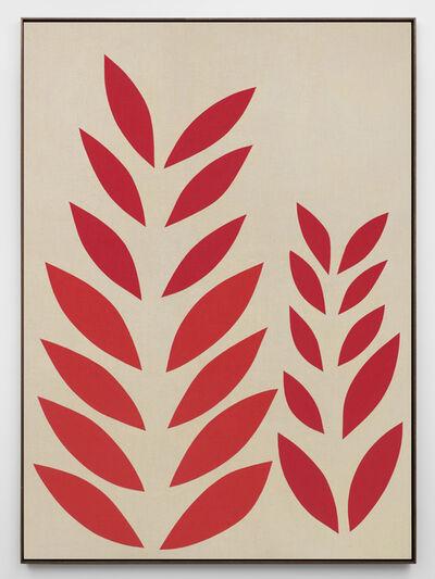 Antonio Ballester Moreno, 'Plantas (rojas)', 2019
