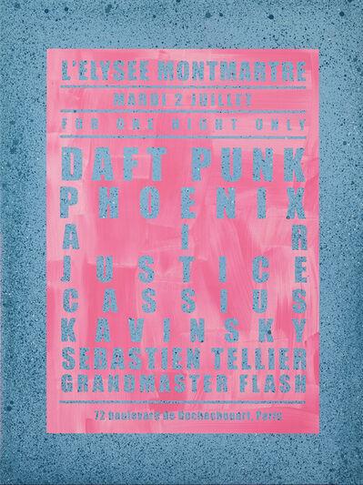André Saraiva, 'Dream Concert / Daft Punk / Grandmaster Flash', 2019