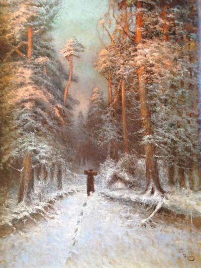 Vladimir Nasonov, 'Winter Evening'