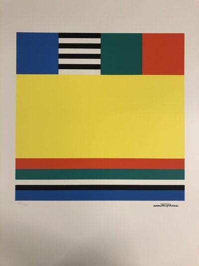 Camille Graeser, 'Compositions Vert bande et rouge', ca. 1960