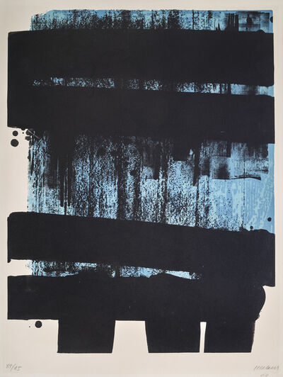 Pierre Soulages, 'Lithographie N°36', 1974