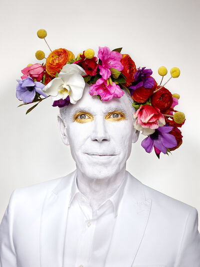 Martin Schoeller, 'Jeff Koons with Floral Headpiece', 2013