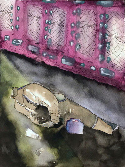 Kambui Olujimi, 'Colonial Snatch Box', 2020