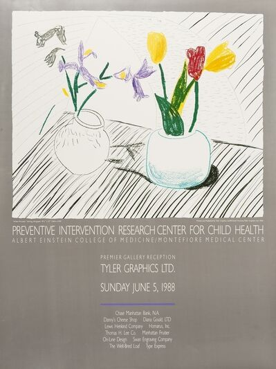 After David Hockney, 'A poster for Tyler Graphics', 1988