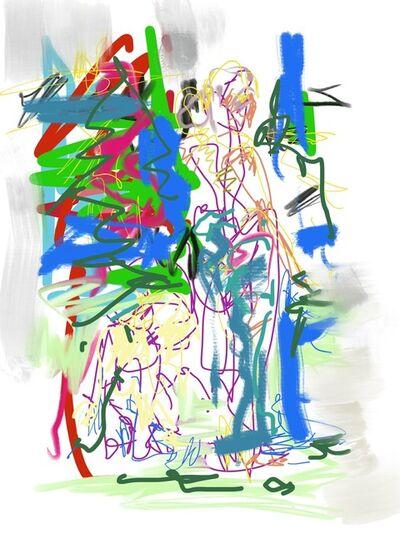 Nicole Leidenfrost, 'Hunderunde', 2021