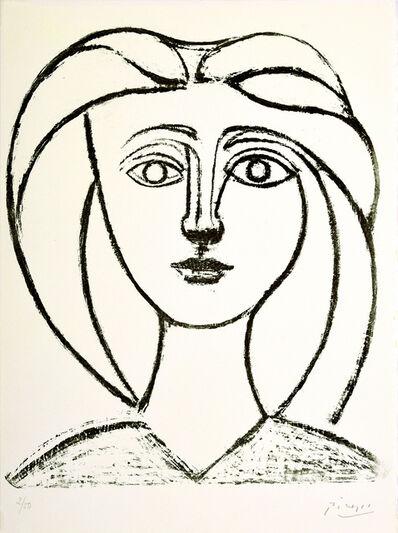 Pablo Picasso, 'Jeune fille aux grands cheveux', 1945