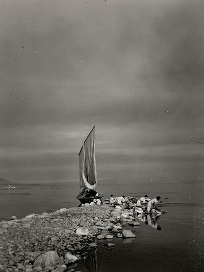 Ernest Knee, 'Washing Cloths, Lake Chapala, Jalisco, Mexico', 1941