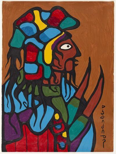 Norval Morrisseau, 'Ancestral Warrior', 1972