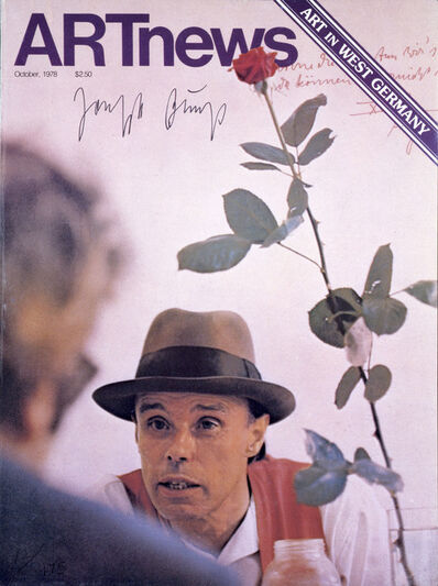 Joseph Beuys, 'Artnews Cover', 1979