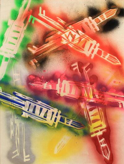 Stikman, 'Tumbling', 2006